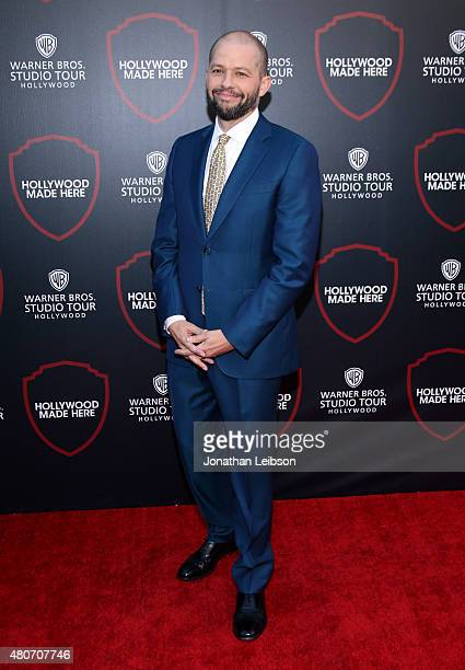 Actor Jon Cryer attends the Warner Bros Studio Tour Hollywood Expansion Official Unveiling Stage 48 Script To Screen at Warner Bros Studios on July...