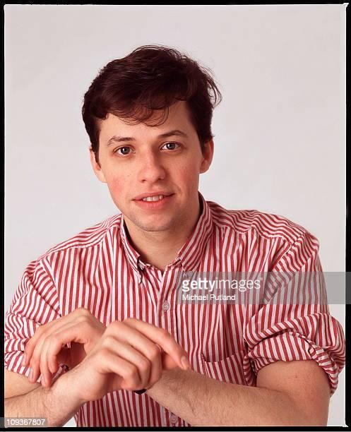 Actor Jon Cryer studio portrait London 1988