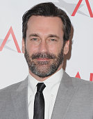 Actor Jon Hamm arrives at the 15th Annual AFI Awards at Four Seasons Hotel Los Angeles at Beverly Hills on January 9 2015 in Beverly Hills California