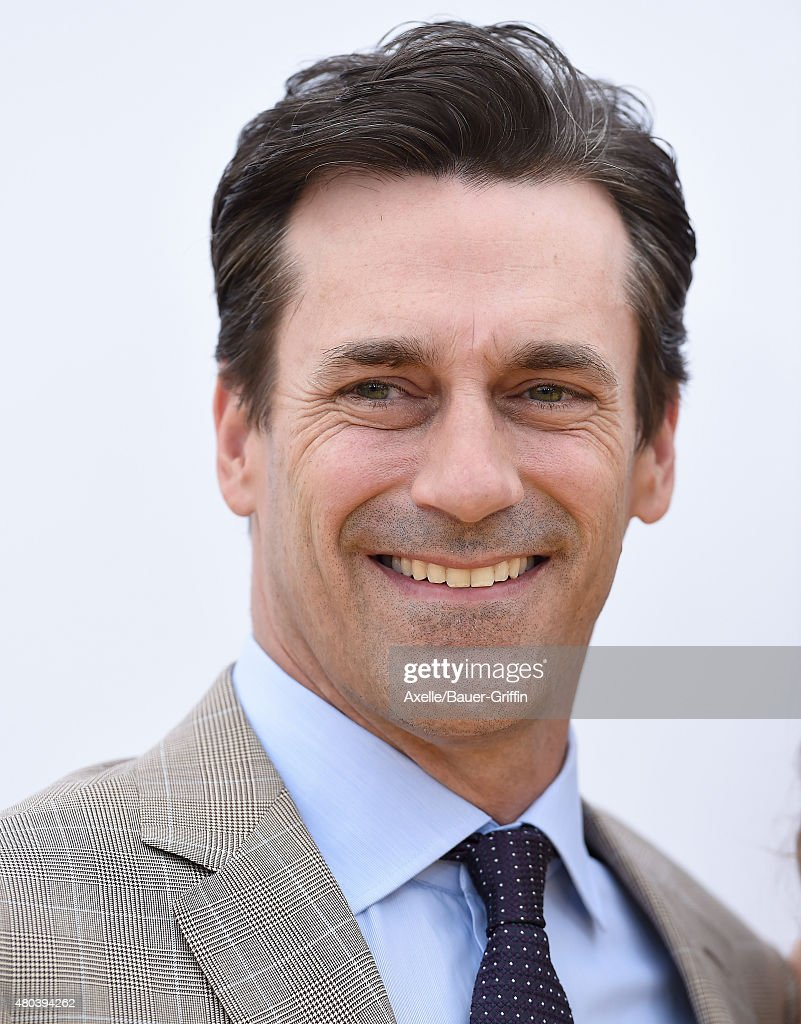 Actor Jon Hamm arrives at the premiere of Universal Pictures and Illumination Entertainment's 'Minions' at The Shrine Auditorium on June 27, 2015 in Los Angeles, California.