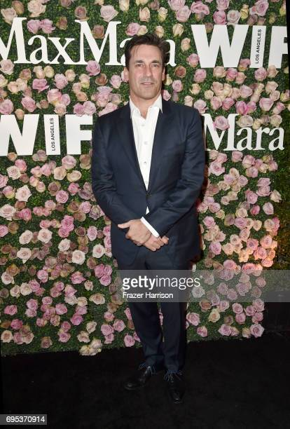 Actor Jon Hamm at Max Mara Celebrates Zoey Deutch The 2017 Women In Film Max Mara Face of the Future at Chateau Marmont on June 12 2017 in Los...