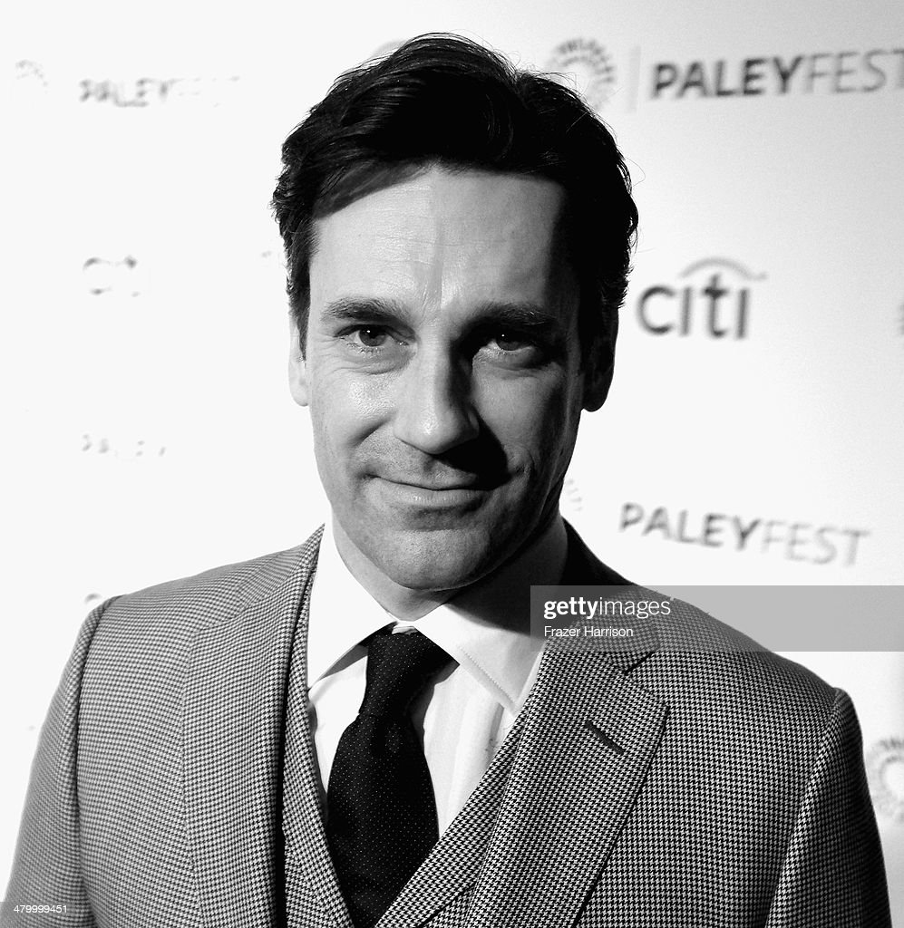 Actor <a gi-track='captionPersonalityLinkClicked' href=/galleries/search?phrase=Jon+Hamm&family=editorial&specificpeople=3027367 ng-click='$event.stopPropagation()'>Jon Hamm</a> at The Paley Center For Media's PaleyFest 2014 Honoring 'Mad Men' at Dolby Theatre on March 21, 2014 in Hollywood, California.