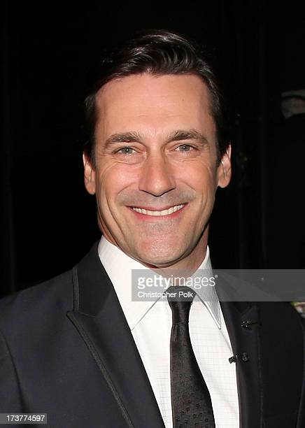 Actor Jon Hamm attends The 2013 ESPY Awards at Nokia Theatre LA Live on July 17 2013 in Los Angeles California