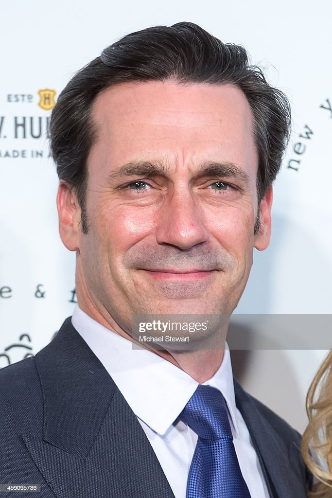 Actor Jon Hamm attends the 2014 New York Stage And Film Winter Gala at The Plaza Hotel on November 16, 2014 in New York City.