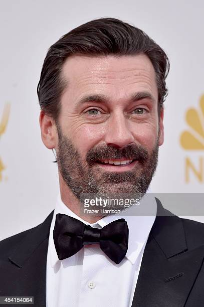 Actor Jon Hamm attends the 66th Annual Primetime Emmy Awards held at Nokia Theatre LA Live on August 25 2014 in Los Angeles California