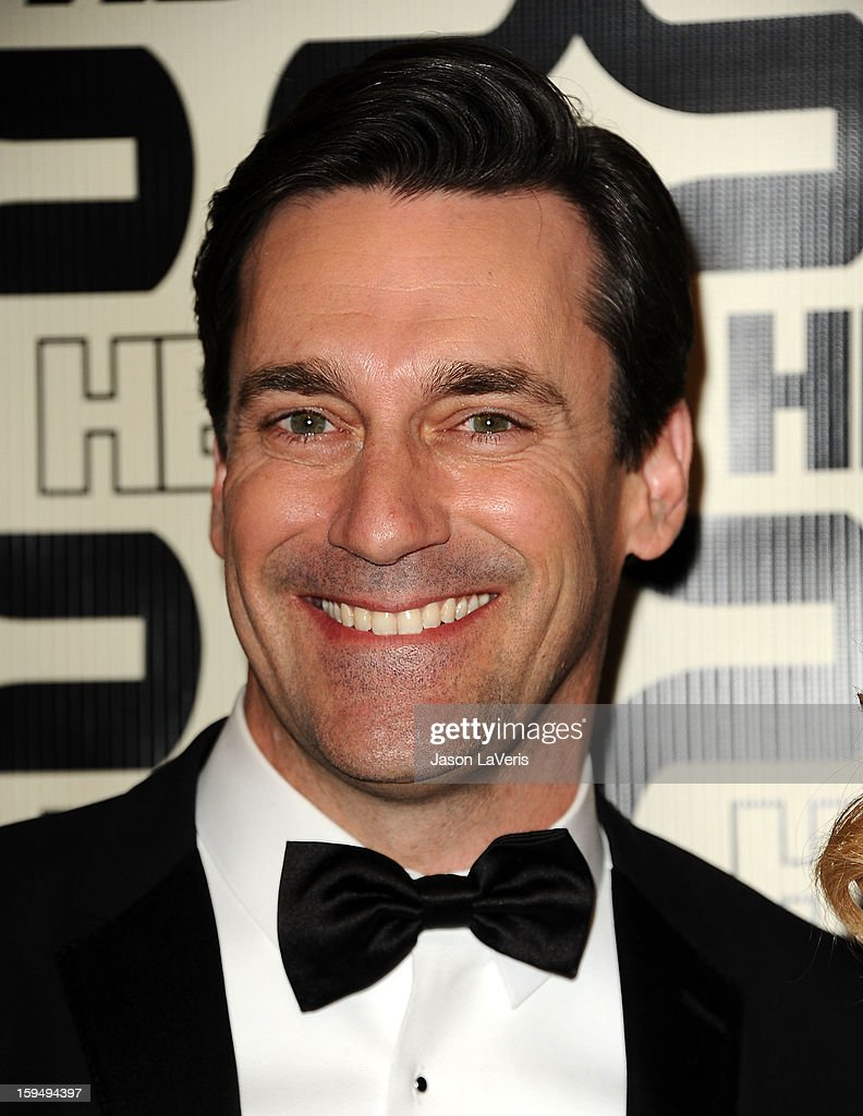 Actor <a gi-track='captionPersonalityLinkClicked' href=/galleries/search?phrase=Jon+Hamm&family=editorial&specificpeople=3027367 ng-click='$event.stopPropagation()'>Jon Hamm</a> attends the HBO after party at the 70th annual Golden Globe Awards at Circa 55 restaurant at the Beverly Hilton Hotel on January 13, 2013 in Los Angeles, California.