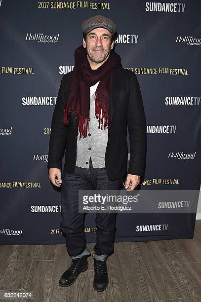 Actor Jon Hamm attends The Hollywood Reporter and Sundance TV 2017 Sundance Film Festival Official Kickoff Party Park City 2017 at Sundance TV HQ on...