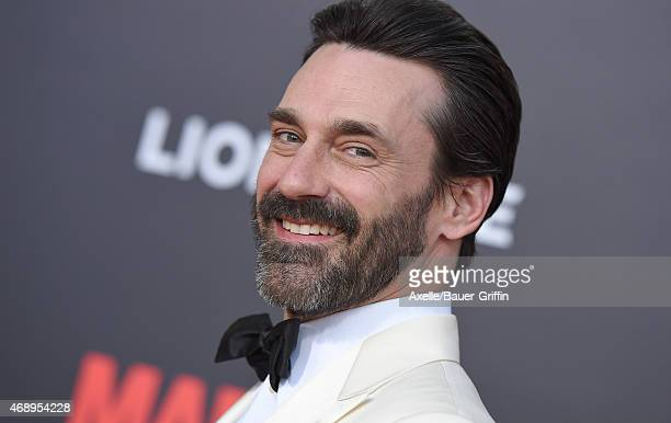 Actor Jon Hamm attends the 'Mad Men' Black Red Ball at Dorothy Chandler Pavilion on March 25 2015 in Los Angeles California