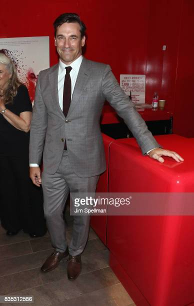 Actor Jon Hamm attends the 'Marjorie Prime' New York premiere at Quad Cinema on August 18 2017 in New York City