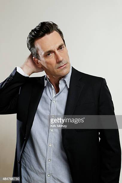 Actor Jon Hamm is photographed for Los Angeles Times on August 13 2015 in Los Angeles California PUBLISHED IMAGE CREDIT MUST BE Kirk McKoy/Los...