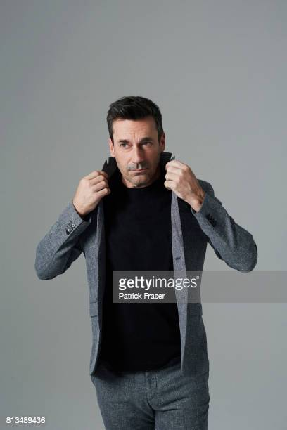 Actor Jon Hamm is photographed for The Observer Magazine on June 6 2017 in Los Angeles California