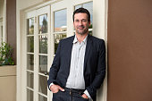 Actor Jon Hamm is photographed for USA Today on April 13 2014 in Los Angeles California