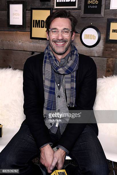 Actor Jon Hamm of 'Marjorie Prime' attends The IMDb Studio featuring the Filmmaker Discovery Lounge presented by Amazon Video Direct Day Four during...