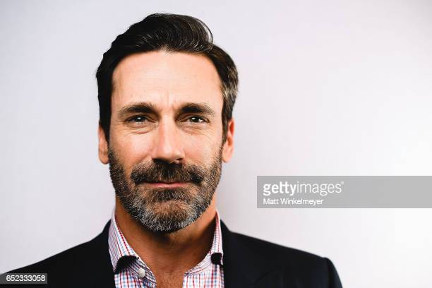 Actor Jon Hamm poses for a portrait during the 'Baby Driver' premiere 2017 SXSW Conference and Festivals on March 11 2017 in Austin Texas
