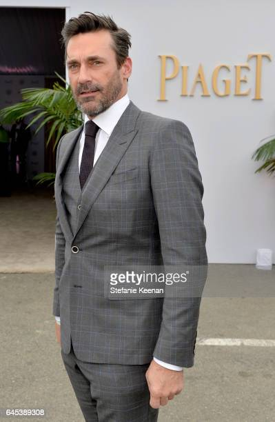 Actor Jon Hamm with Piaget at the 2017 Film Independent Spirit Awards at Santa Monica Pier on February 25 2017 in Santa Monica California
