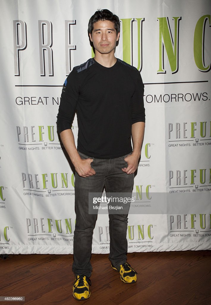 Actor Jon Lee Brody attends PREFUNC At The Celebrity Sweat VIP Party at The Palm on July 16, 2014 in Los Angeles, California.