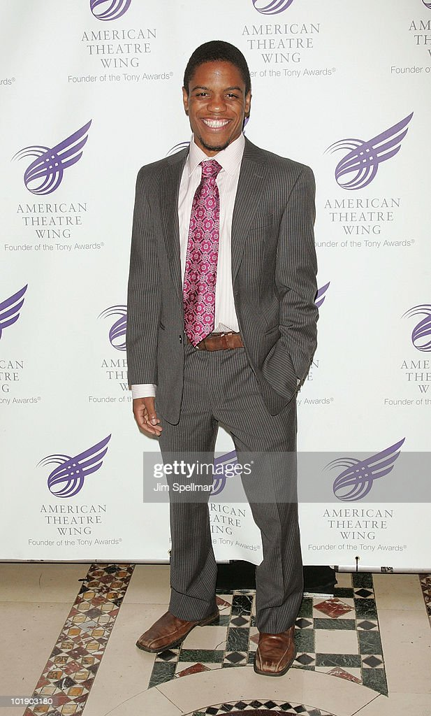 Actor Jon Michael Hill attends the 2010 American Theatre Wing Spring Gala at Cipriani 42nd Street on June 7, 2010 in New York City.
