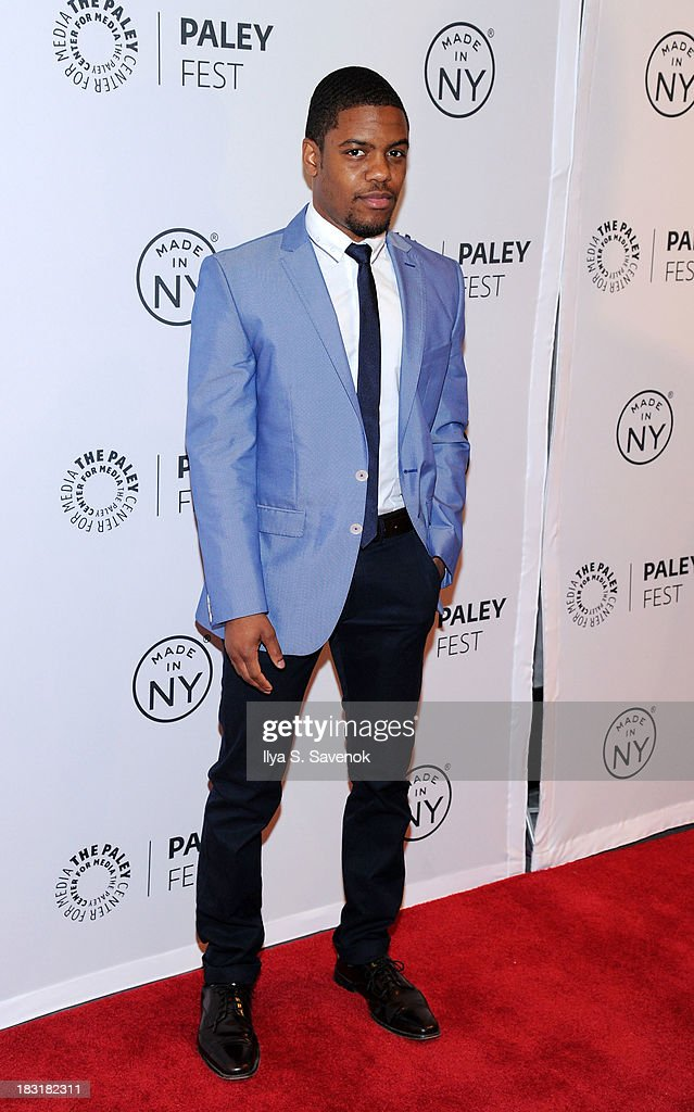 Actor <a gi-track='captionPersonalityLinkClicked' href=/galleries/search?phrase=Jon+Michael+Hill&family=editorial&specificpeople=4469777 ng-click='$event.stopPropagation()'>Jon Michael Hill</a> attends the 'Elementary' panel during 2013 PaleyFest: Made In New York at The Paley Center for Media on October 5, 2013 in New York City.