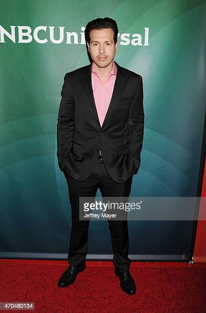 Actor Jon Seda attends the 2015 NBCUniversal Summer Press Day held at the The Langham Huntington Hotel and Spa on April 02 2015 in Pasadena California