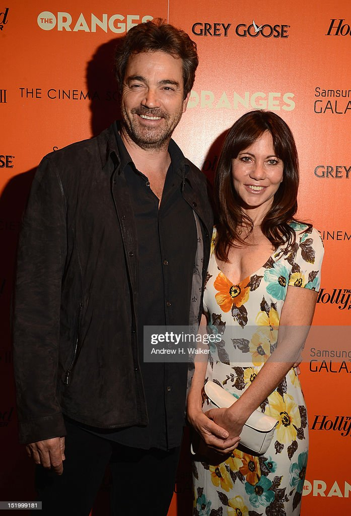 Actor <a gi-track='captionPersonalityLinkClicked' href=/galleries/search?phrase=Jon+Tenney&family=editorial&specificpeople=745587 ng-click='$event.stopPropagation()'>Jon Tenney</a> and producer <a gi-track='captionPersonalityLinkClicked' href=/galleries/search?phrase=Leslie+Urdang&family=editorial&specificpeople=745588 ng-click='$event.stopPropagation()'>Leslie Urdang</a> attend The Cinema Society with The Hollywood Reporter & Samsung Galaxy S III host a screening of 'The Oranges' at Tribeca Screening Room on September 14, 2012 in New York City.