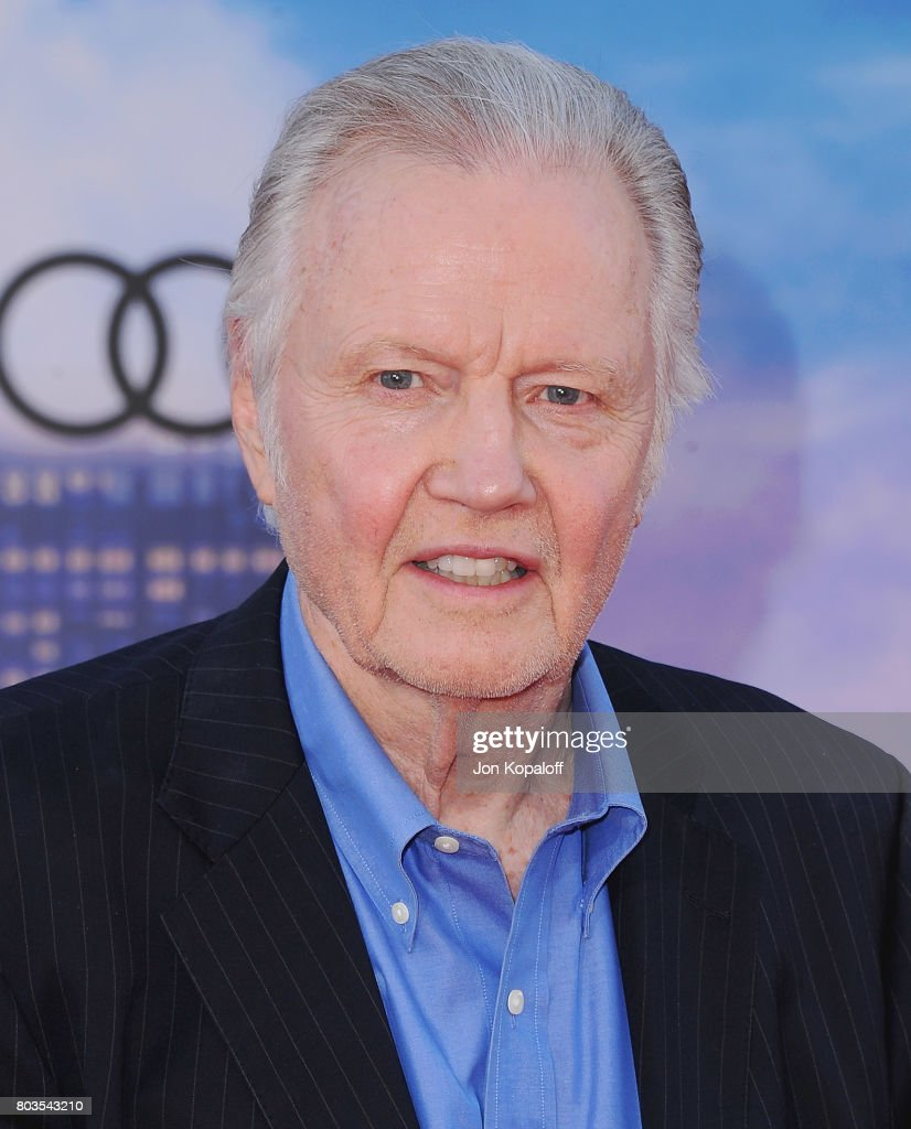 Actor Jon Voight arrives at the Los Angeles Premiere 'Spider-Man: Homecoming' at TCL Chinese Theatre on June 28, 2017 in Hollywood, California.