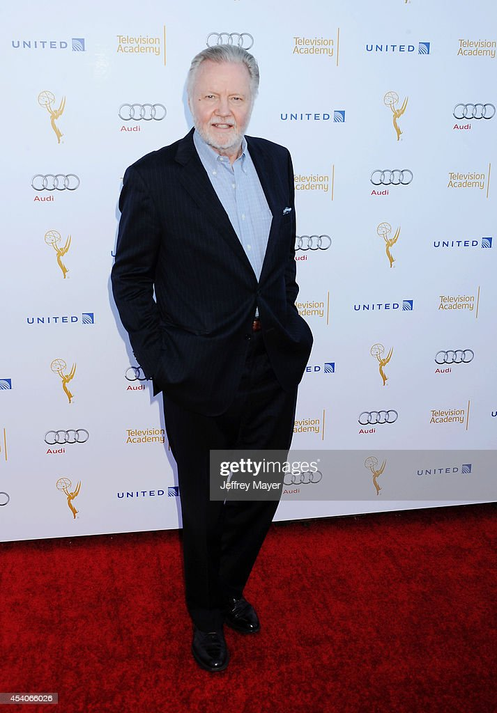 Actor Jon Voight arrives at the Television Academy's 66th Emmy Awards Performance Nominee Reception at the Pacific Design Center on Saturday, Aug. 23, 2014, in West Hollywood, California.