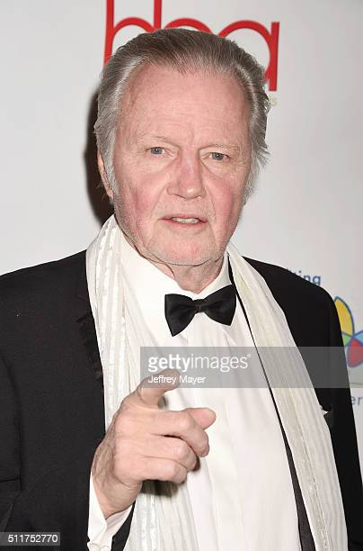 Actor Jon Voight attends the 2nd Annual Hollywood Beauty Awards benefiting Children's Hospital Los Angeles at Avalon Hollywood on February 21 2016 in...