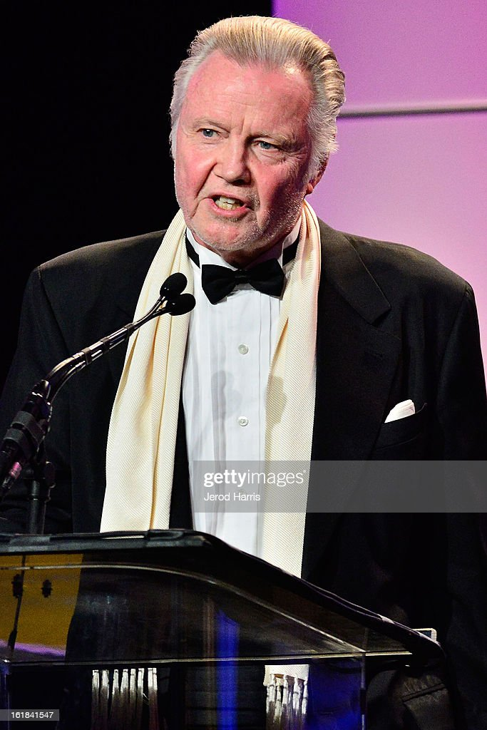 Actor <a gi-track='captionPersonalityLinkClicked' href=/galleries/search?phrase=Jon+Voight&family=editorial&specificpeople=202872 ng-click='$event.stopPropagation()'>Jon Voight</a> attends the 63rd Annual ACE Eddie Awards at the Beverly Hilton Hotel on February 16, 2013 in Beverly Hills, California.