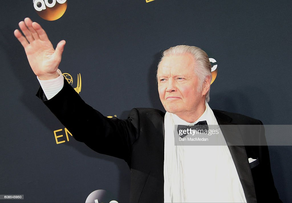 Actor Jon Voight attends the 68th Annual Primetime Emmy Awards at Microsoft Theater on September 18, 2016 in Los Angeles, California.