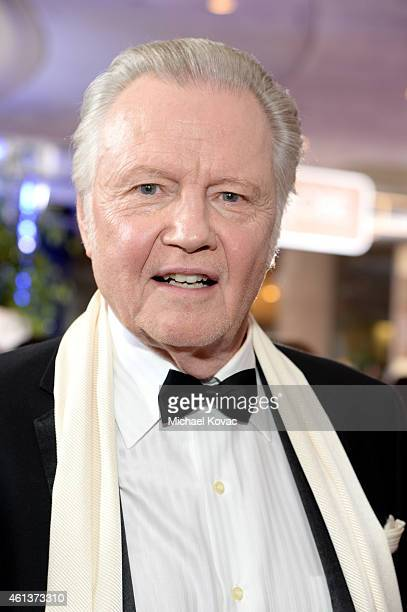 Actor Jon Voight attends the 72nd Annual Golden Globe Awards at The Beverly Hilton Hotel on January 11 2015 in Beverly Hills California