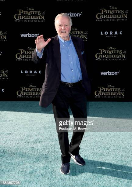 Actor Jon Voight attends the premiere of Disney's 'Pirates Of The Caribbean Dead Men Tell No Tales' at Dolby Theatre on May 18 2017 in Hollywood...