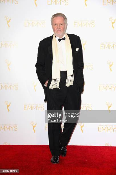 Actor Jon Voight poses in the press room during the 2014 Creative Arts Emmy Awards at Nokia Theatre LA Live on August 16 2014 in Los Angeles...