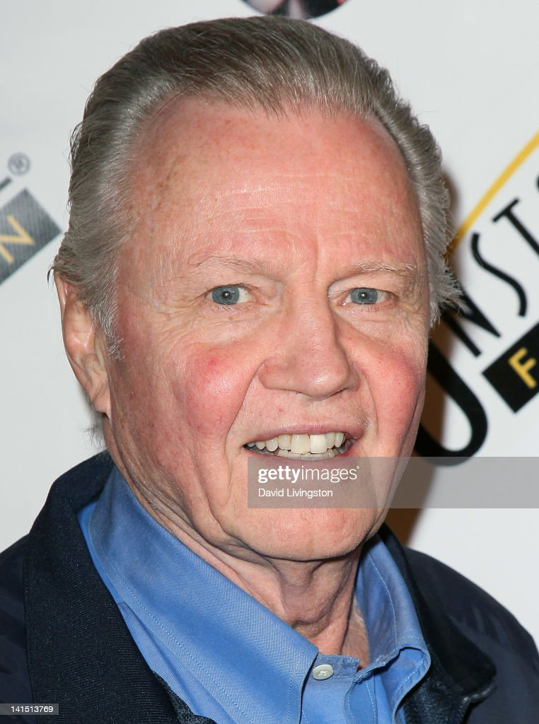 Actor <a gi-track='captionPersonalityLinkClicked' href=/galleries/search?phrase=Jon+Voight&family=editorial&specificpeople=202872 ng-click='$event.stopPropagation()'>Jon Voight</a> poses on the red carpet at the 3rd annual Unstoppable Gala at the Millennium Biltmore Hotel on March 17, 2012 in Los Angeles, California.