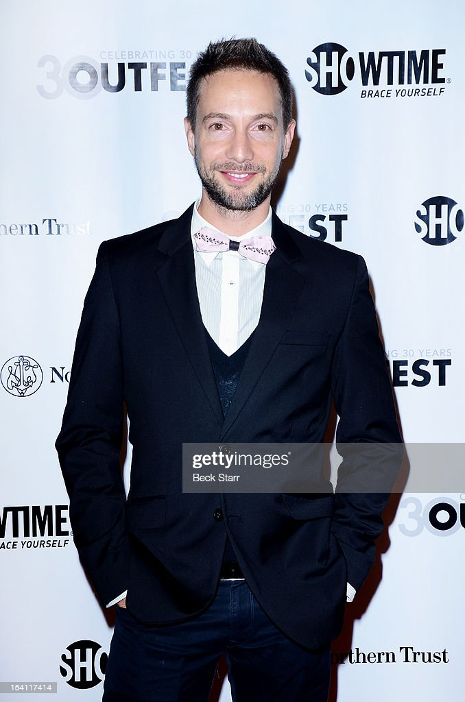 Actor Jonah Blackman arrives at the 2012 Outfest Legacy Awards at Orpheum Theatre on October 13, 2012 in Los Angeles, California.