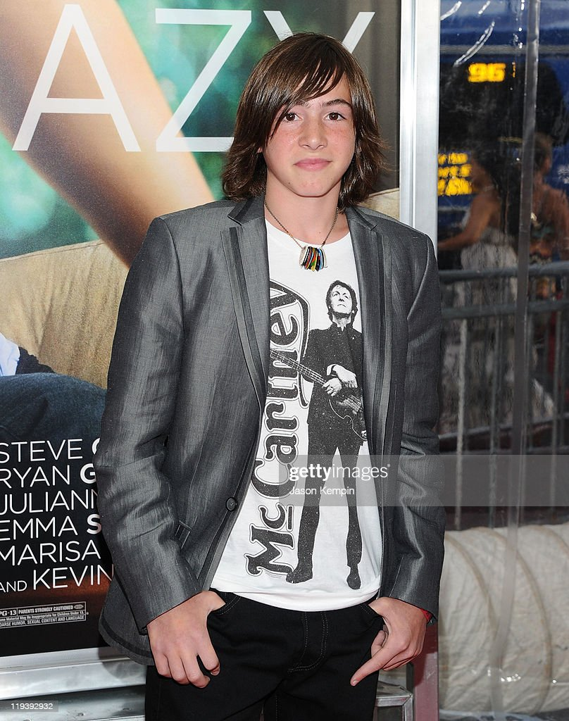 Actor Jonah Bobo attends the 'Crazy Stupid Love' World Premiere at the Ziegfeld Theater on July 19 2011 in New York City