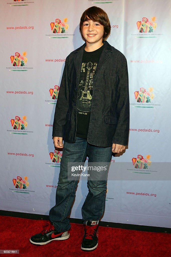 Actor Jonah Bobo attends the Elizabeth Glaser Pediatric AIDS Foundation 'Kids for Kids Family Carnival' at Industria Superstudio on October 24 2009...
