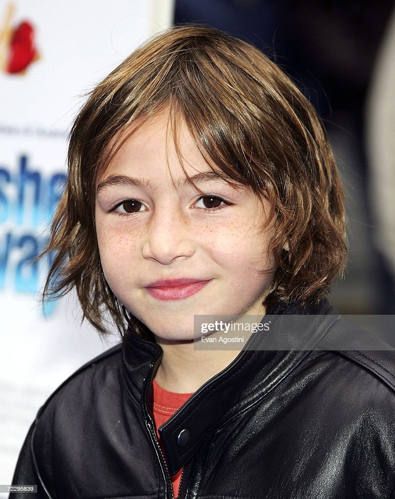 Actor Jonah Bobo attends the premiere of Dreamworks Animation's new feature 'Flushed Away' at AMC Lincoln Square October 29 2006 in New York City