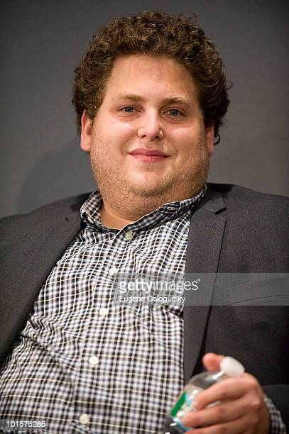Actor Jonah Hill attends Meet The Actors 'Get Him To The Greek' at the Apple Store Soho on June 2 2010 in New York City