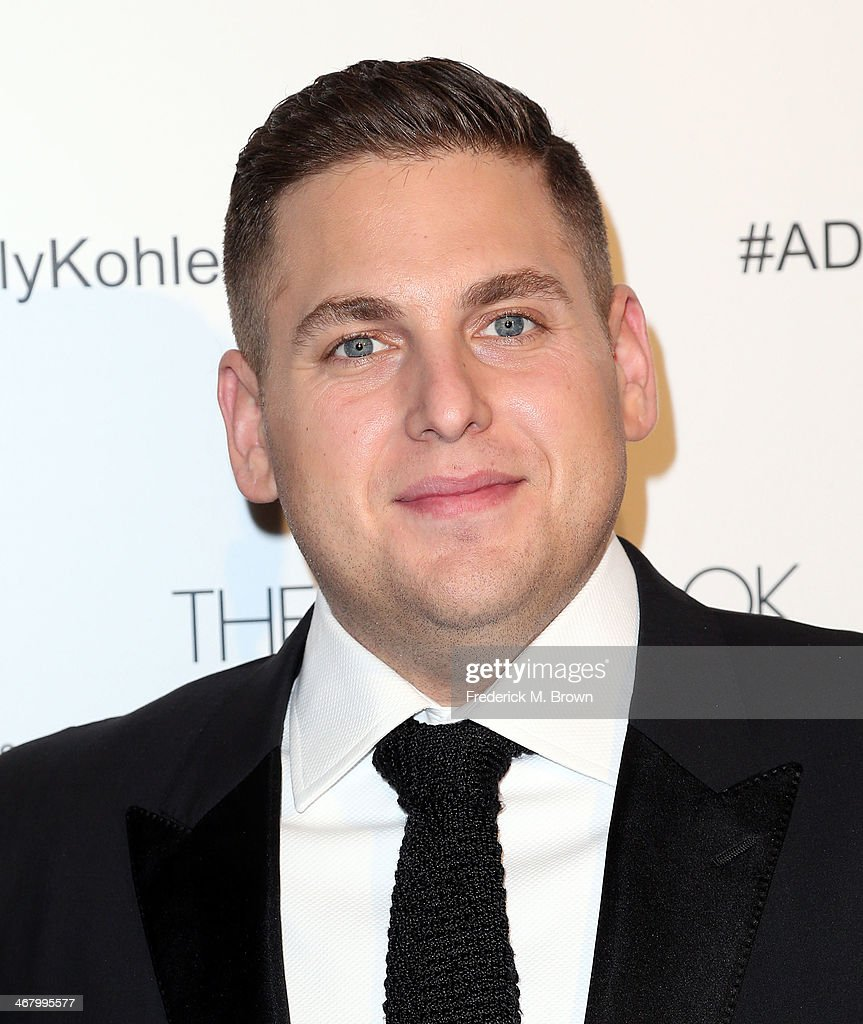 Actor <a gi-track='captionPersonalityLinkClicked' href=/galleries/search?phrase=Jonah+Hill&family=editorial&specificpeople=544481 ng-click='$event.stopPropagation()'>Jonah Hill</a> attends the 18th Annual Art Directors Guild Excellence in Production Design Awards at The Beverly Hilton Hotel on February 8, 2014 in Beverly Hills, California.