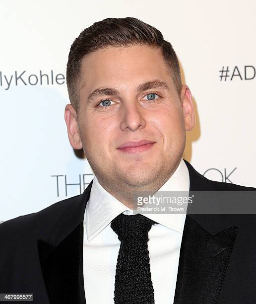 Actor Jonah Hill attends the 18th Annual Art Directors Guild Excellence in Production Design Awards at The Beverly Hilton Hotel on February 8 2014 in...