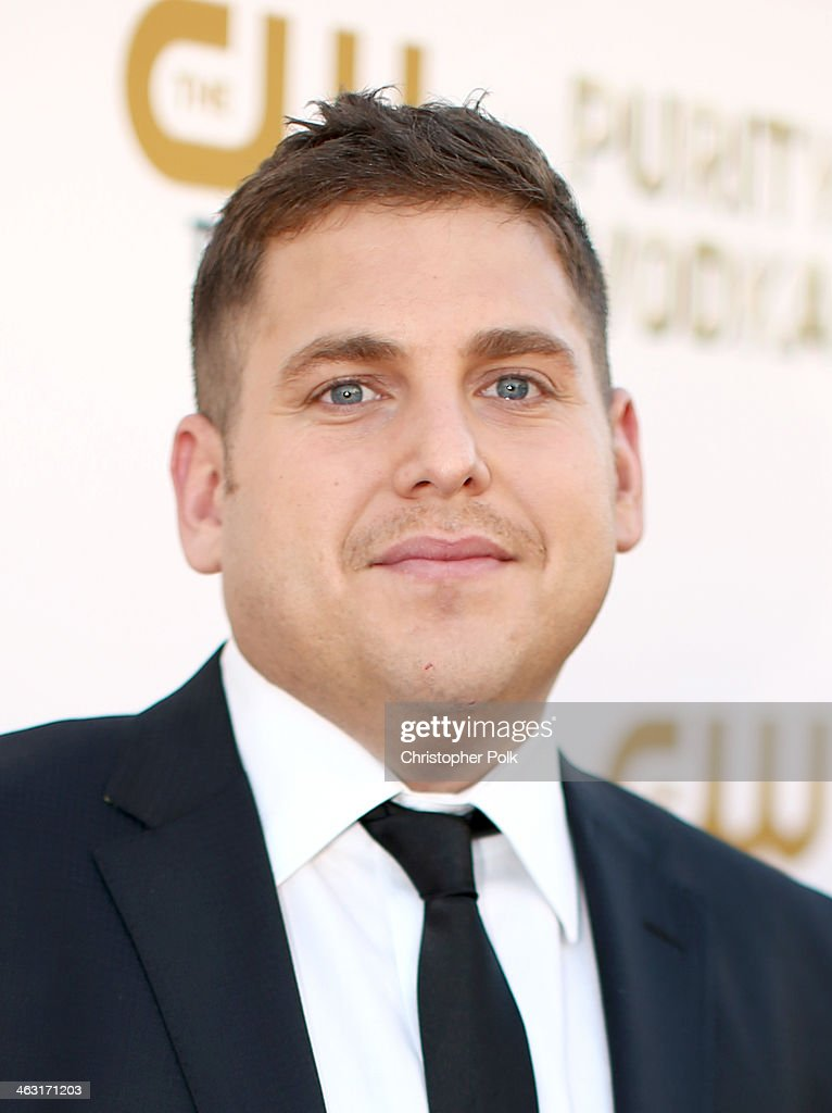 Actor <a gi-track='captionPersonalityLinkClicked' href=/galleries/search?phrase=Jonah+Hill&family=editorial&specificpeople=544481 ng-click='$event.stopPropagation()'>Jonah Hill</a> attends the 19th Annual Critics' Choice Movie Awards at Barker Hangar on January 16, 2014 in Santa Monica, California.