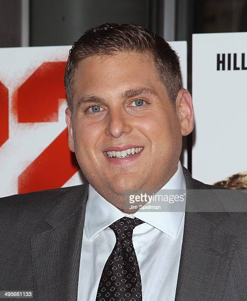 Actor Jonah Hill attends the '22 Jump Street' premiere at AMC Lincoln Square Theater on June 4 2014 in New York City