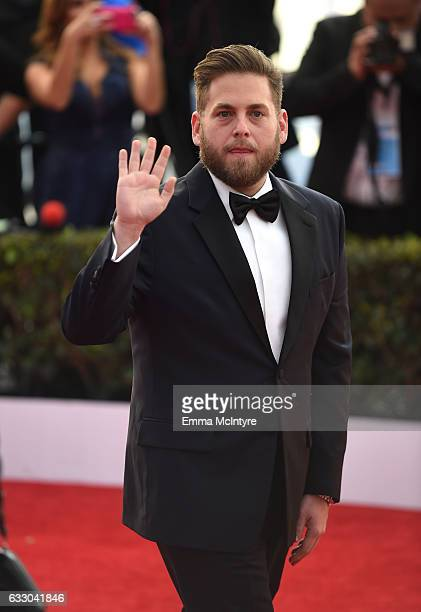 Actor Jonah Hill attends The 23rd Annual Screen Actors Guild Awards at The Shrine Auditorium on January 29 2017 in Los Angeles California 26592_016