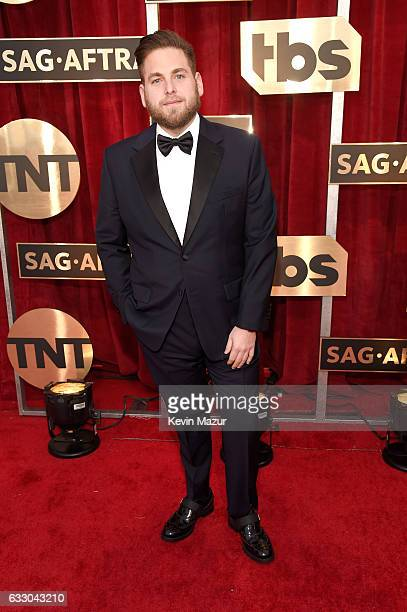 Actor Jonah Hill attends The 23rd Annual Screen Actors Guild Awards at The Shrine Auditorium on January 29 2017 in Los Angeles California 26592_011