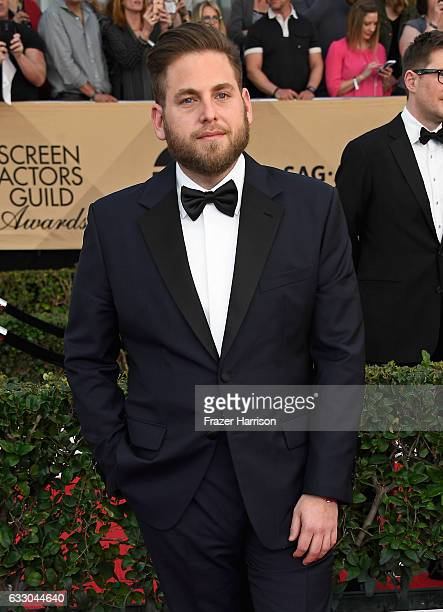 Actor Jonah Hill attends The 23rd Annual Screen Actors Guild Awards at The Shrine Auditorium on January 29 2017 in Los Angeles California 26592_008