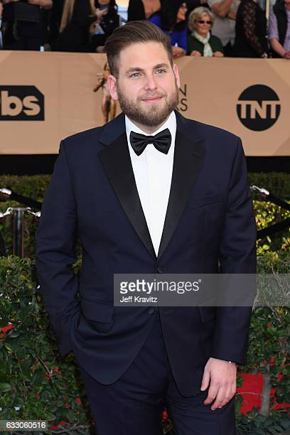 Actor Jonah Hill attends the 23rd Annual Screen Actors Guild Awards at The Shrine Expo Hall on January 29 2017 in Los Angeles California