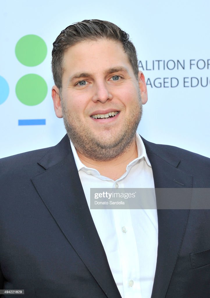 Actor <a gi-track='captionPersonalityLinkClicked' href=/galleries/search?phrase=Jonah+Hill&family=editorial&specificpeople=544481 ng-click='$event.stopPropagation()'>Jonah Hill</a> attends the first annual Poetic Justice Fundraiser for the Coalition For Engaged Education at the Herb Alpert Educational Village on May 28, 2014 in Santa Monica, California.