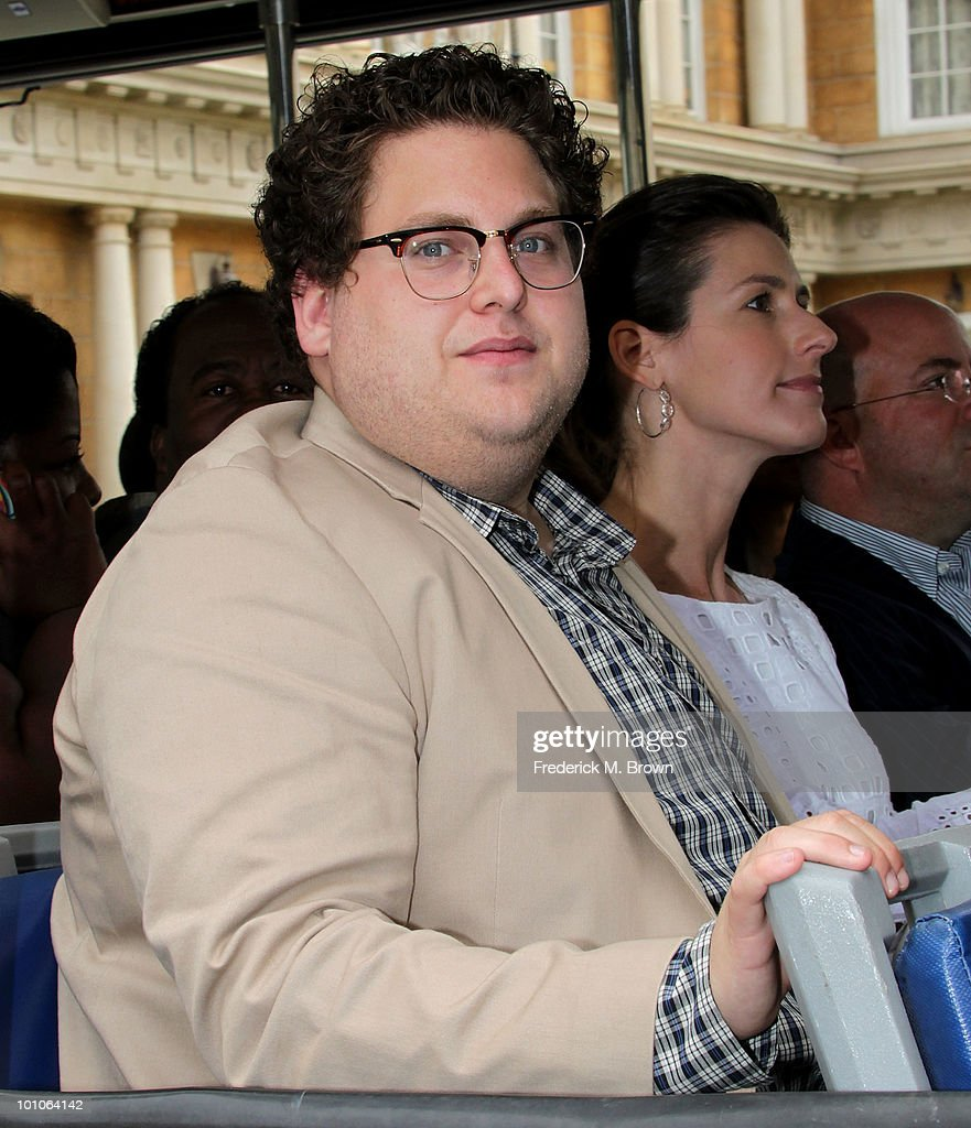 Actor Jonah Hill attends the reopening of Universal Studios' back lot on May 27, 2010 in Universal City, California.