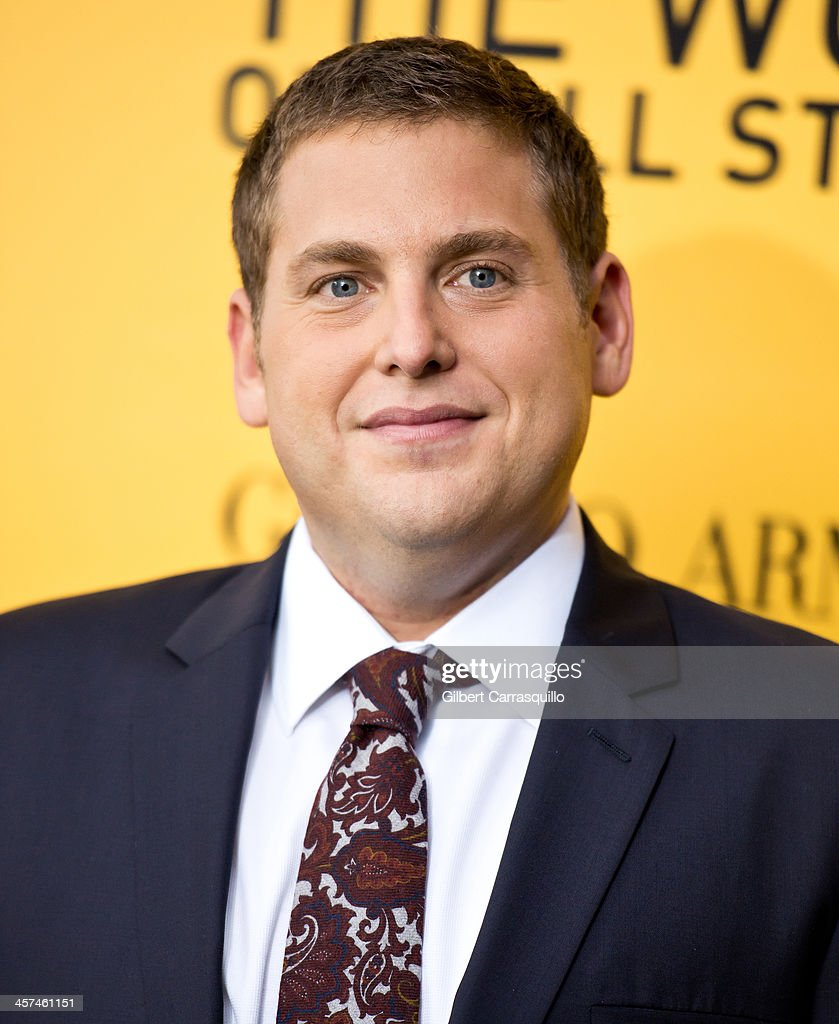 Actor <a gi-track='captionPersonalityLinkClicked' href=/galleries/search?phrase=Jonah+Hill&family=editorial&specificpeople=544481 ng-click='$event.stopPropagation()'>Jonah Hill</a> attends the 'The Wolf Of Wall Street' premiere at Ziegfeld Theater on December 17, 2013 in New York City.