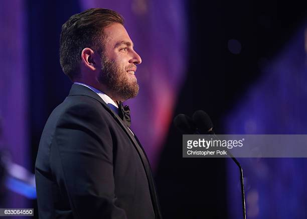Actor Jonah Hill during The 23rd Annual Screen Actors Guild Awards at The Shrine Auditorium on January 29 2017 in Los Angeles California 26592_012
